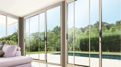 Porte fenetre baie vitrée